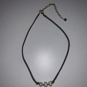 3 BEADED GREY PEARL NECKLACE
